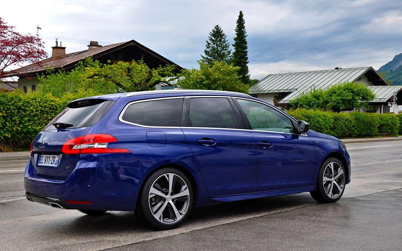 Время дляреванша— обновленный Peugeot 308на тест-драйве— фото 790824