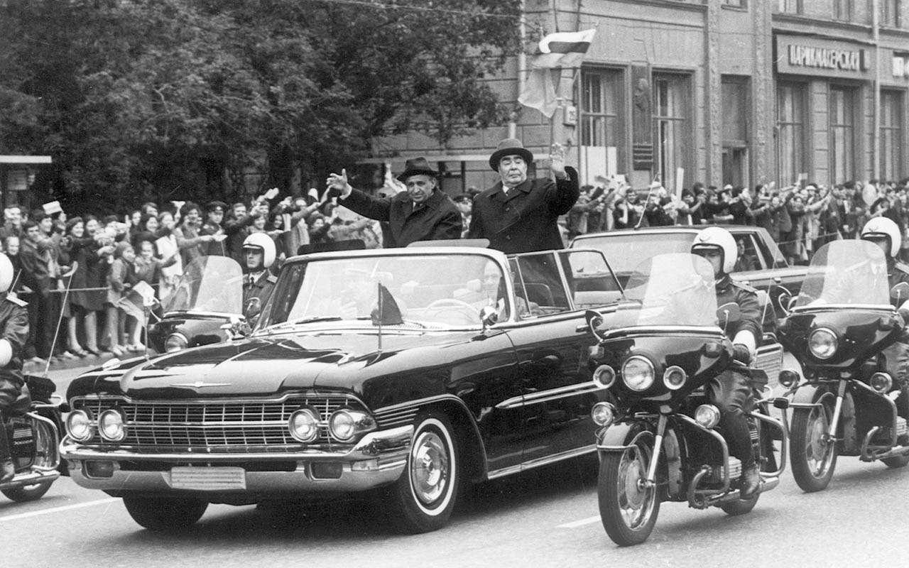 Начем ездили советские генсеки: отИльича доСергеича— фото 1035360