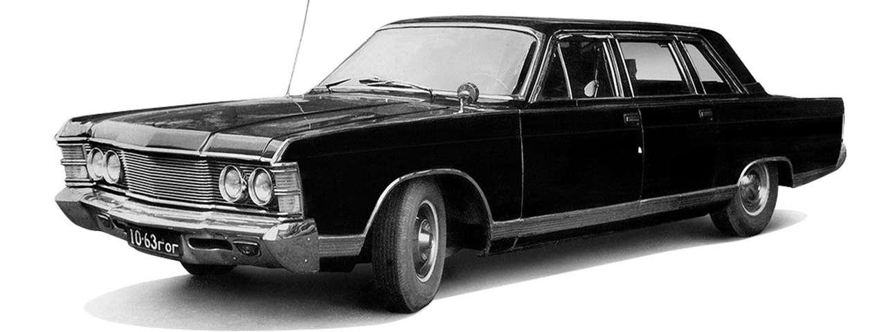 Тест машины, которую никогда не продавали: Чайка ГАЗ‑14— фото 998650