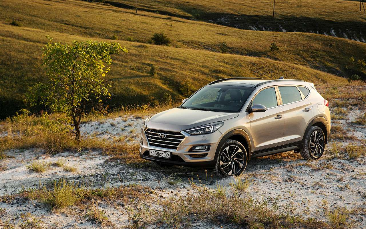 Hyundai Tucson сновым автоматом (восьмиступенчатым!)— фото 898349