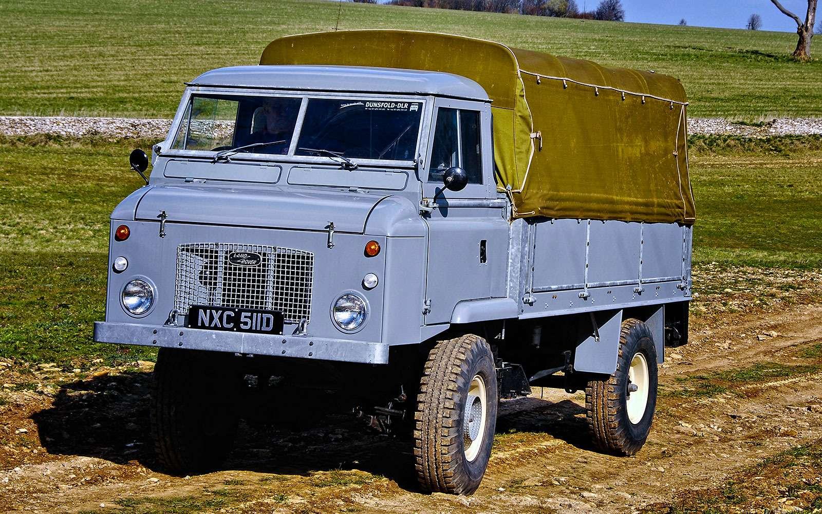 История Land Rover вкартинках: жить полной жизнью— фото 620642