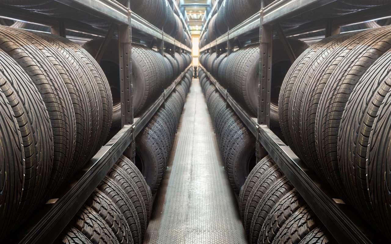 Какигде хранить шины— все ливыправильно делаете?— фото 818623
