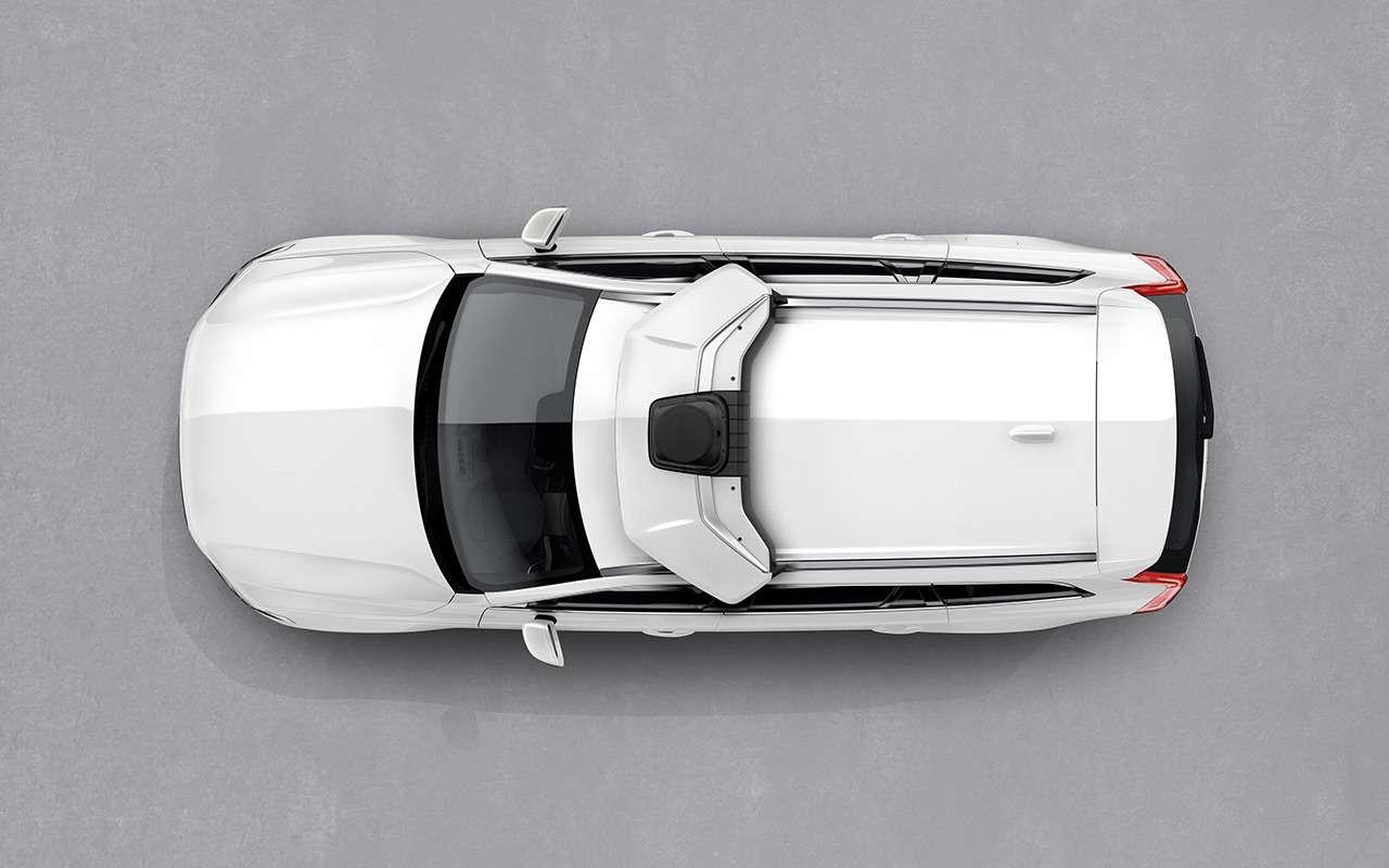 Volvo Cars иUber сделали общий беспилотник— фото 980380