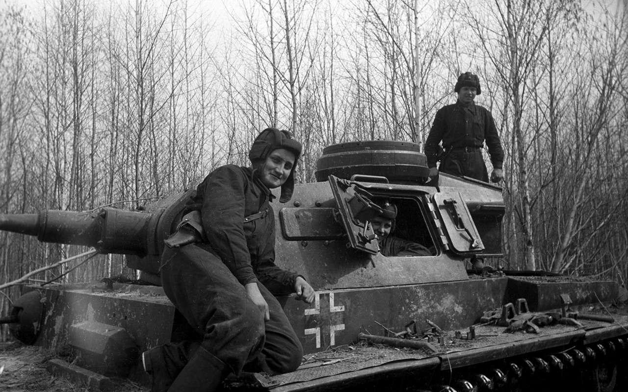 Захватить ипеределать: как фашистские танки служили вКрасной армии— фото 1053266