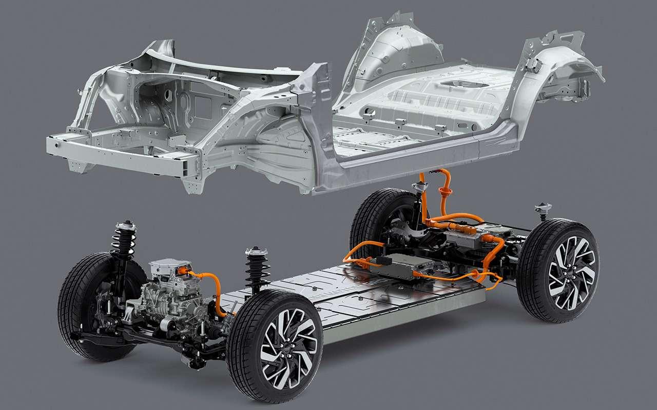 Новый кроссовер Kia: 585 «лошадей», 2 багажника и простор, как в лимузине - фото 1272953