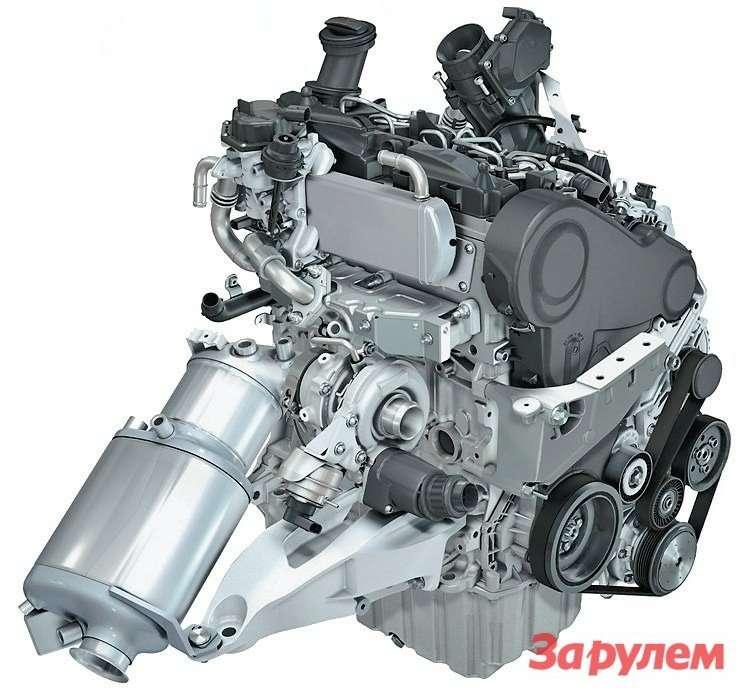 Моторы нового семейства 2009 года оснащены системой Common Rail