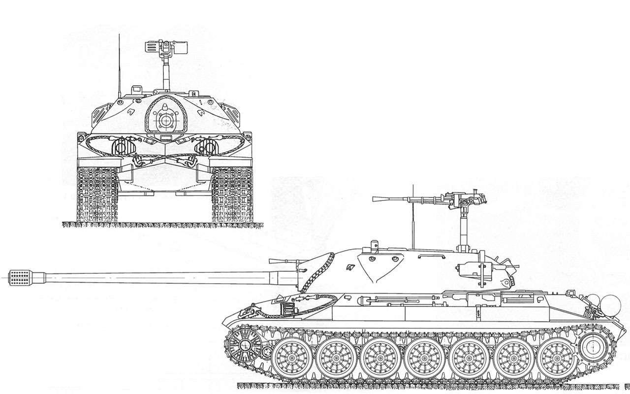 ИС-7: неизвестный советский танк-монстр— фото 960631