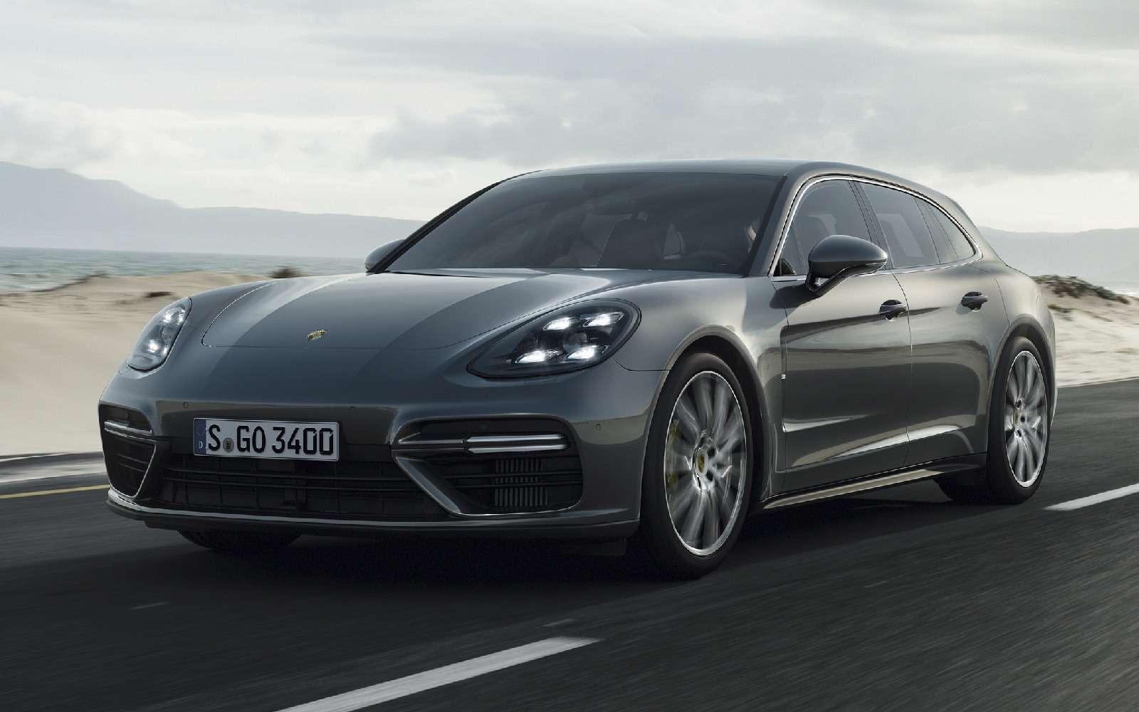Porsche Panamera Sport Turismo: наконец-то «сарай»!— фото 714932