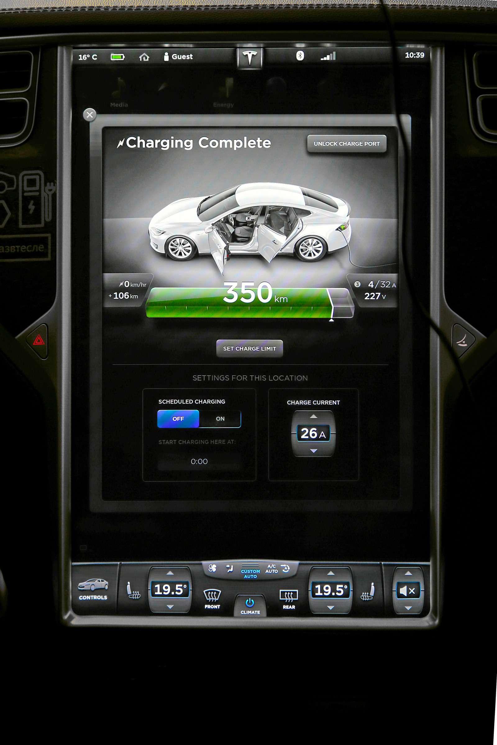 Такси-тест Tesla Model SP85: деньги изрозетки— фото 598047