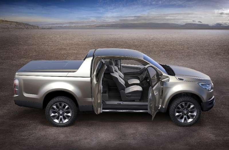 Новый пикап Chevrolet Colorado представлен вБангкоке