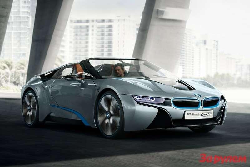 BMWi8Spyder Concept 2012 1600x1200 wallpaper 02