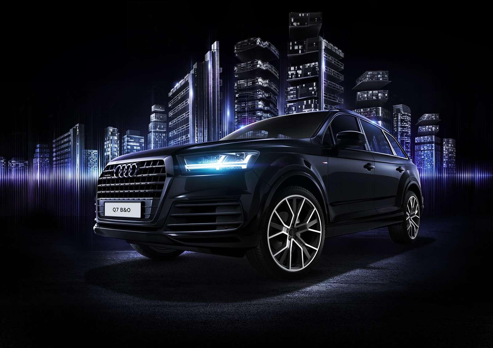 Audi Q7получил спецверсию дляроссийских меломанов— фото 783191