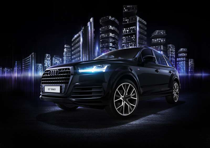 Audi Q7 Bang & Oulfsen edition