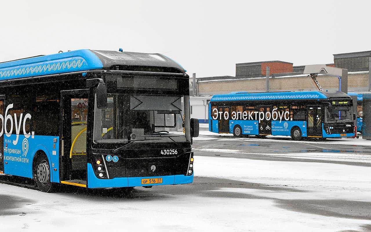 Электробус столицы: онможет проехать 59км. Ноэто нормально— фото 1088771
