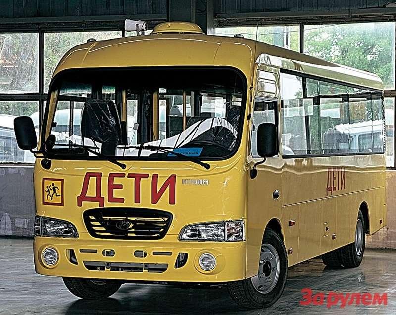 Автобусы «Каунти», собранные вРостовской области, возят пассажиров вомногих регионах России.