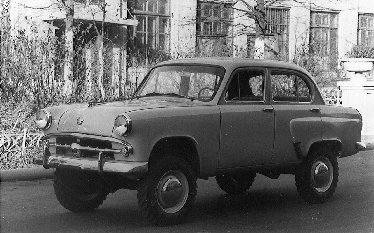 12советских внедорожников— помните, какие изних можно было купить?— фото 1009095