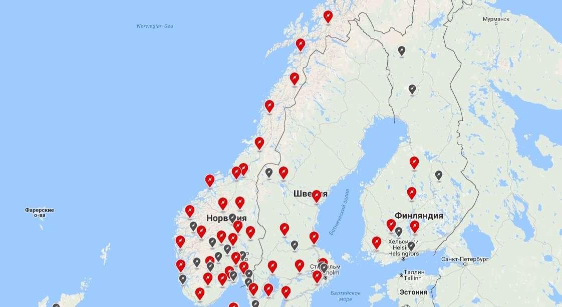 Tesla плюс Осло: как «электрифицировалась» Норвегия— фото 615507