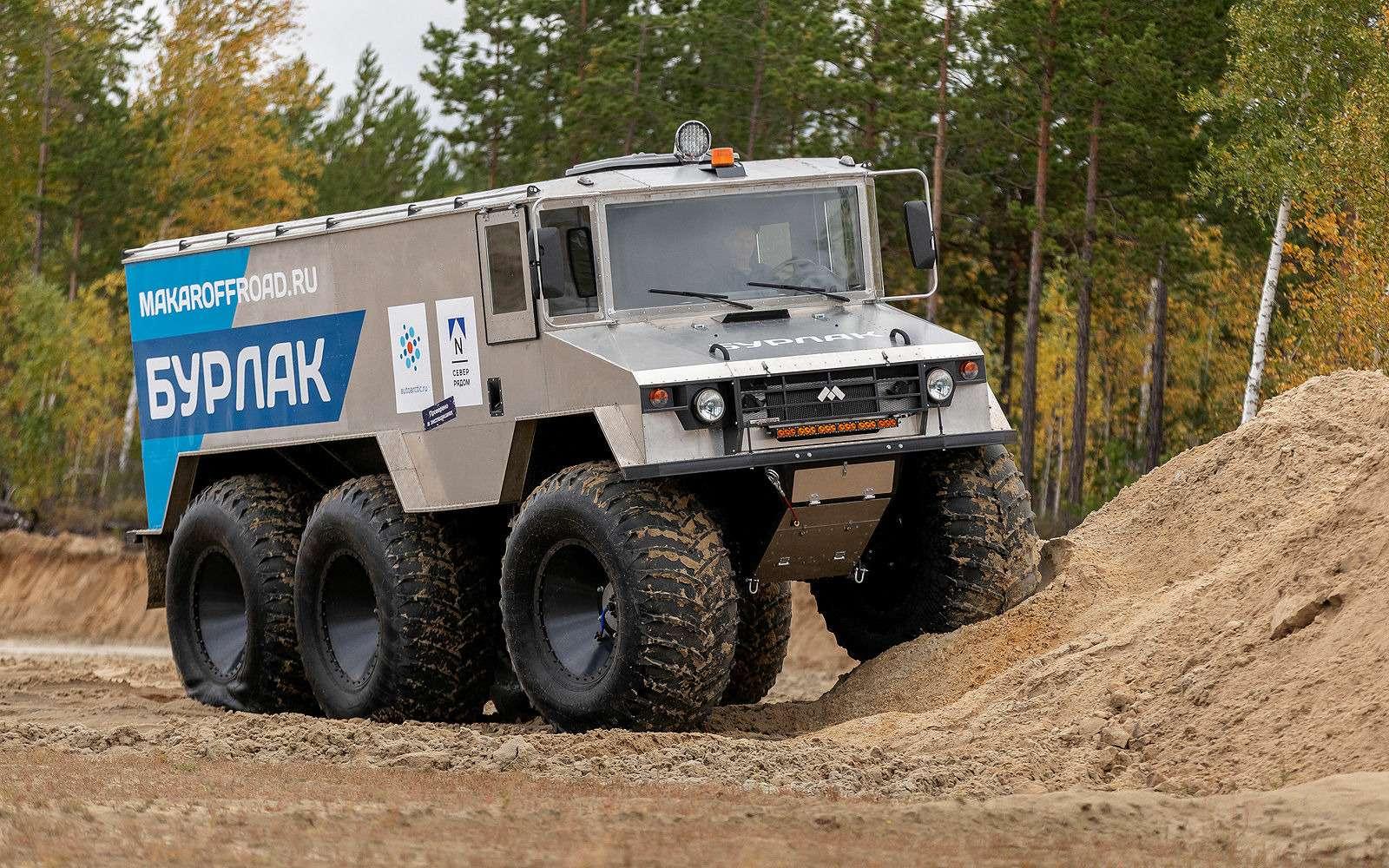 Вездеход «Бурлак»: лучшая машина дляснежных пустынь— фото 1001865