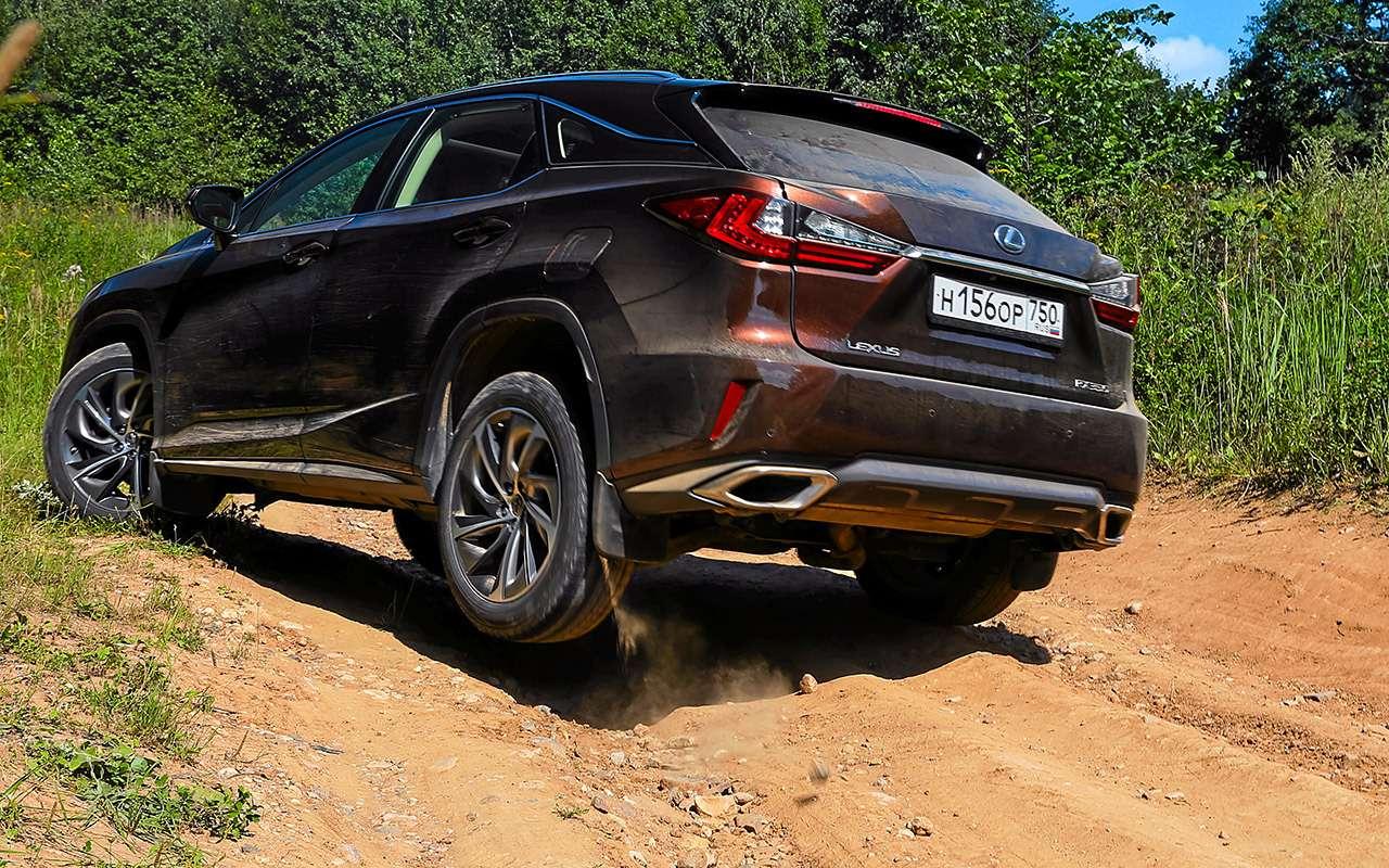 Новый VWTouareg, Land Rover Discovery иLexus RX350: большой тест-драйв— фото 899479