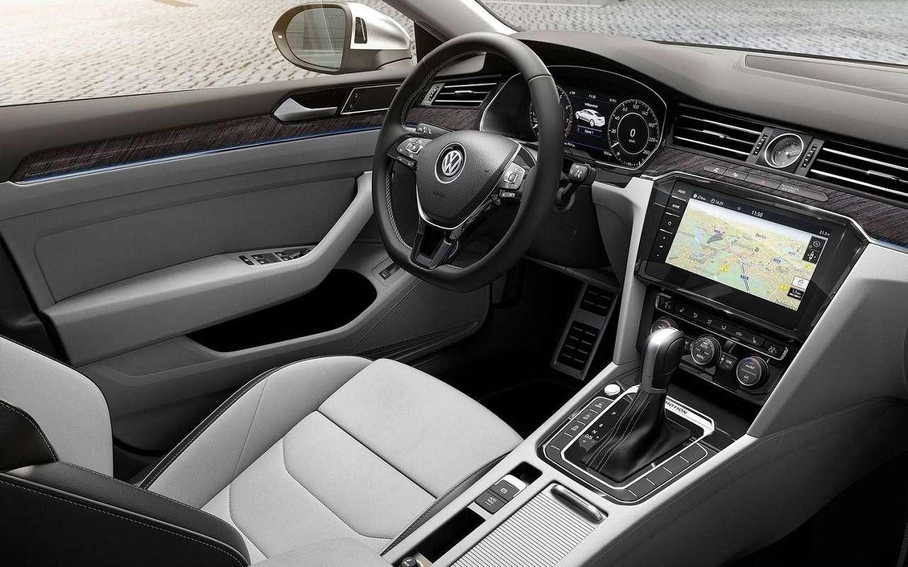 Volkswagen привезет вРоссию спортивный седан Arteon— фото 1138246