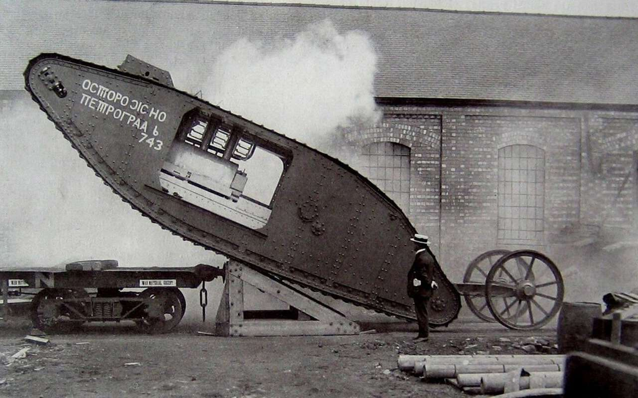 Ромбовидные «самцы» и«самки»: как вымерли самые нелепые танки— фото 998475