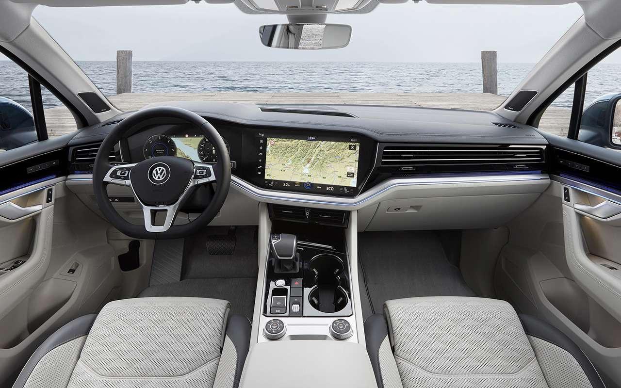 6 причин задуматься опокупке нового Volkswagen Touareg— фото 908073