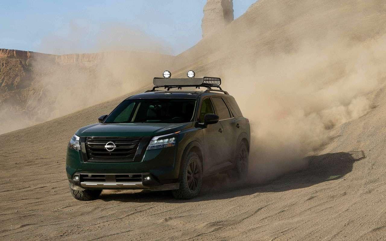 Новый Nissan Pathfinder— скоро вРоссии— фото 1221284