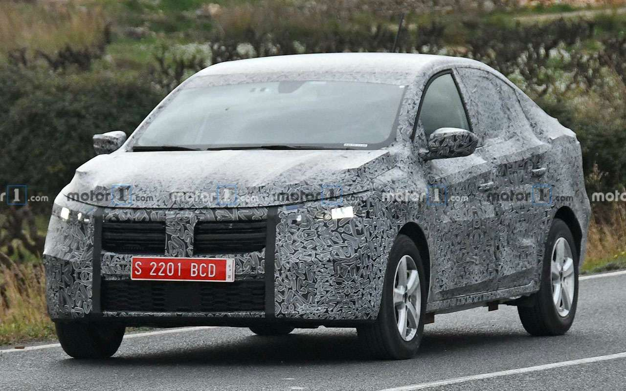 Новый Renault Logan— первые фото стестов— фото 1082935