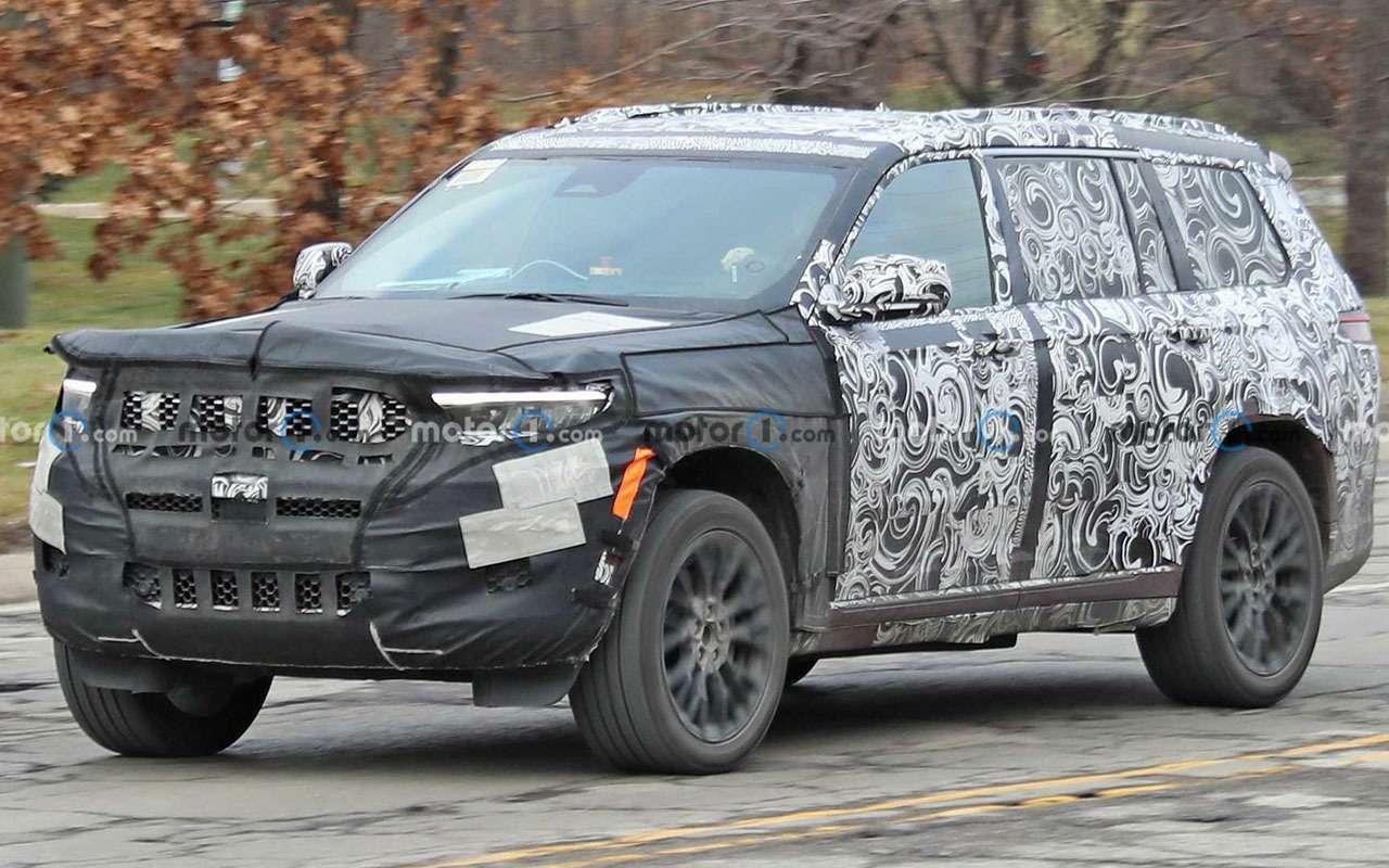 Трехрядный Jeep Grand Cherokee— новые фото— фото 1211556