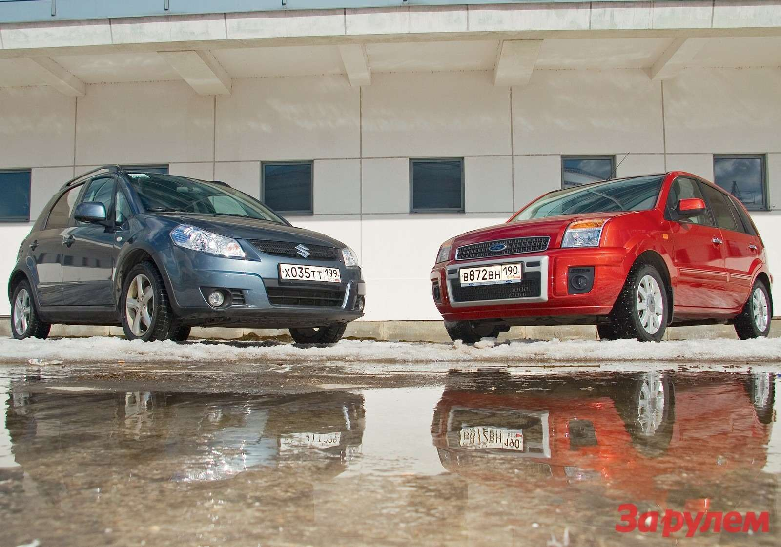 Ford Fusion vsSuzuki SX4