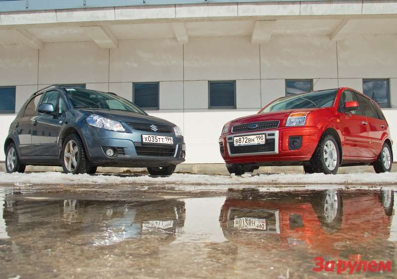 Ford Fusion vs Suzuki SX4
