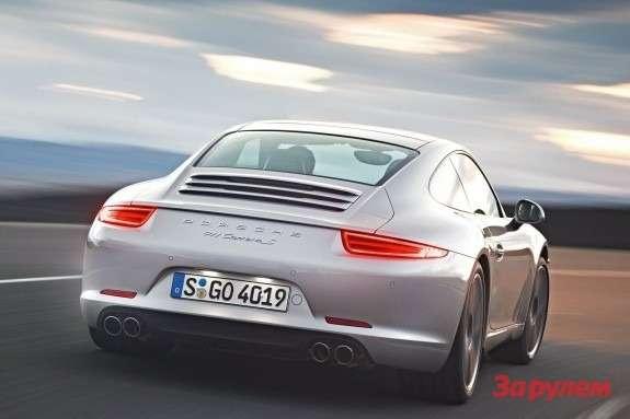Porsche 911 Carrera Srear view