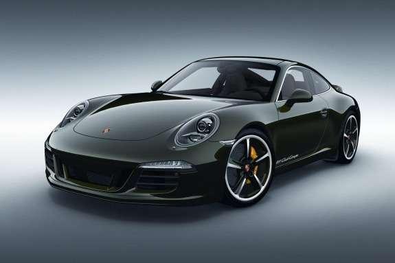 Porsche 911 Club Coupe side-front view