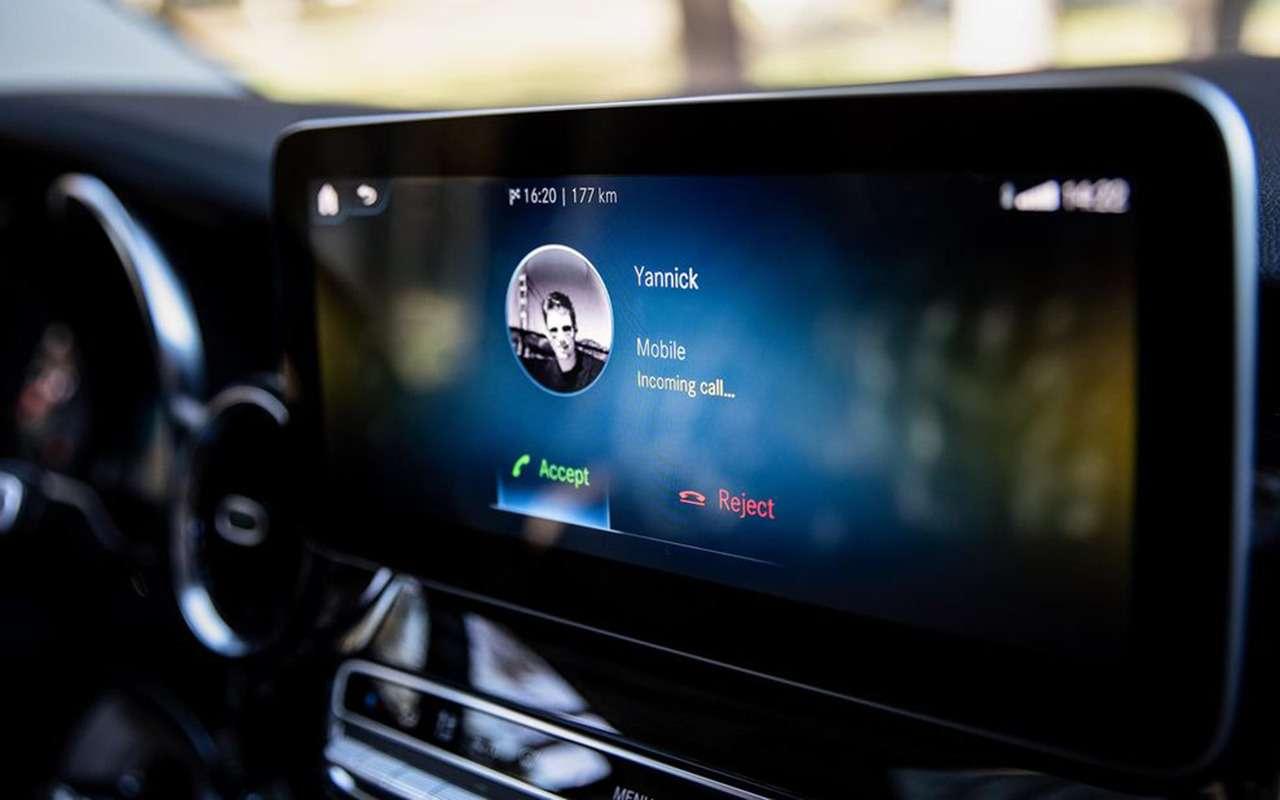 Автодом Mercedes-Benz выполняет команду: «Эй, Мерседес!»— фото 1019279