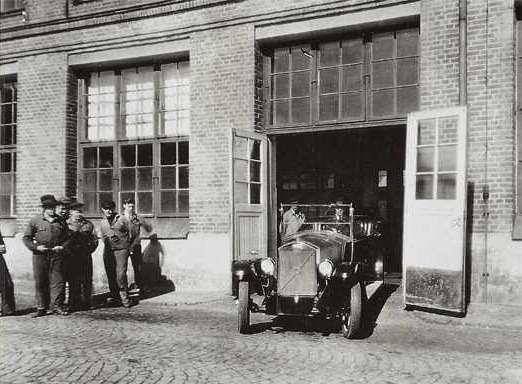 4 The start ofVolvo production inGoteborg 1927no copyright