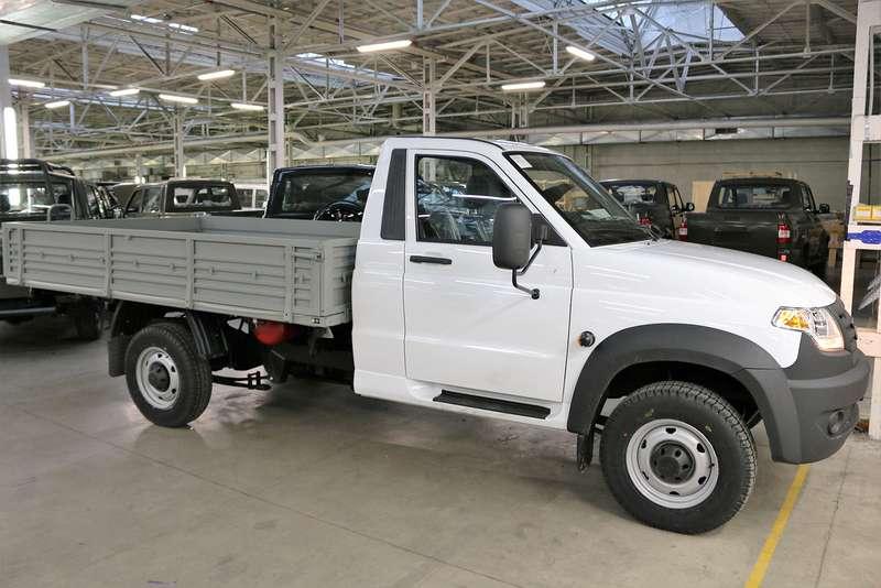 УАЗ в Российской Федерации начал продажи битопливного УАЗ «Профи»