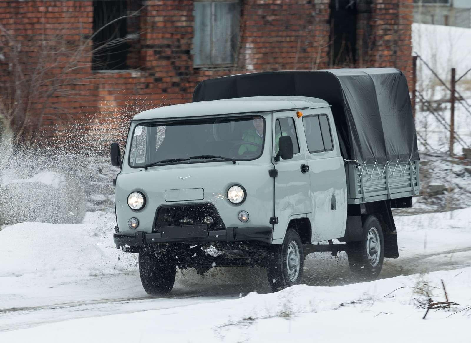 Модернизированный УАЗ Фермер.
