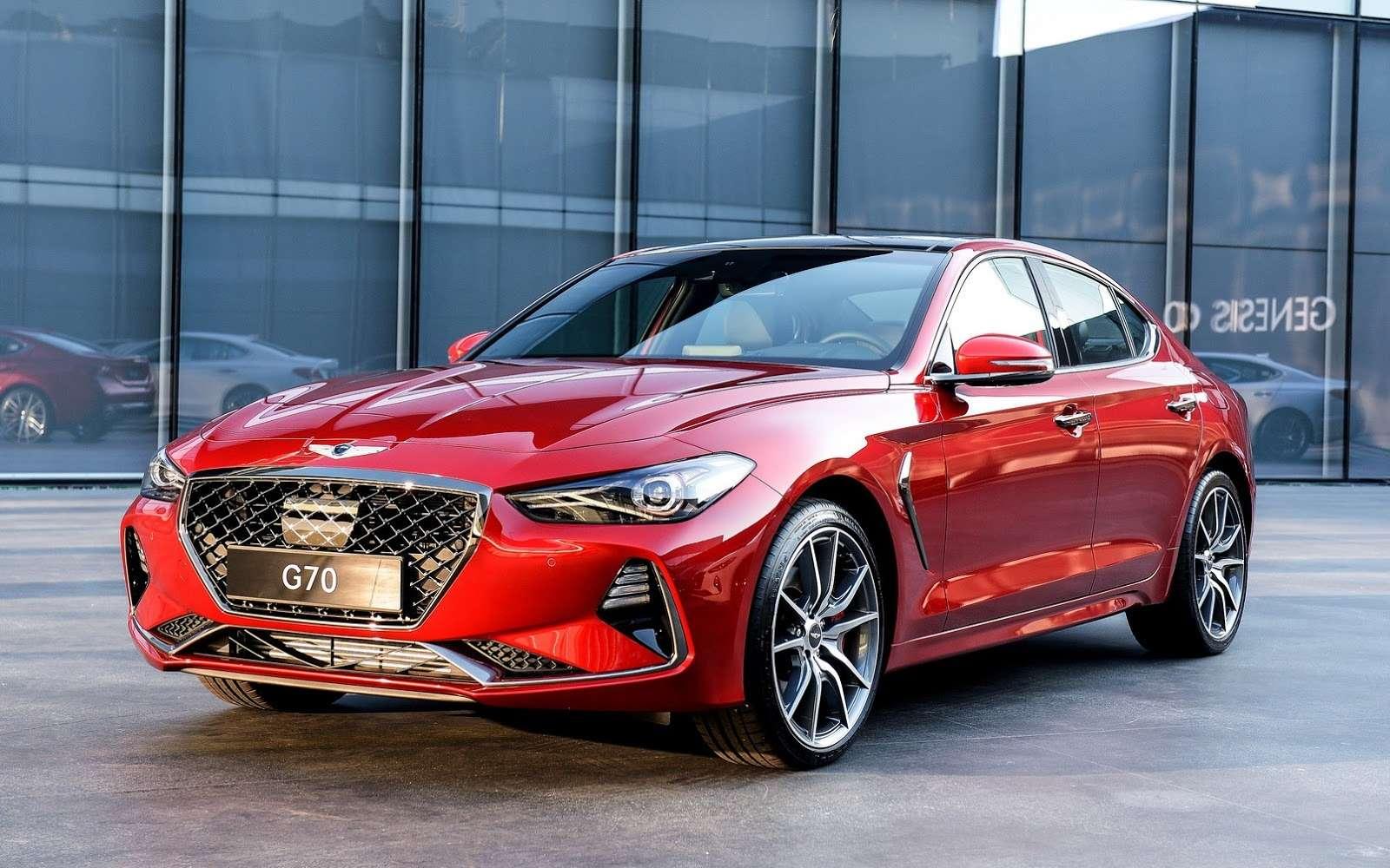 Корейский соперник «трешки» BMW вРоссии оказался дешевле конкурентов— фото 795121