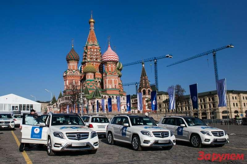 Олимпийские Mercedes