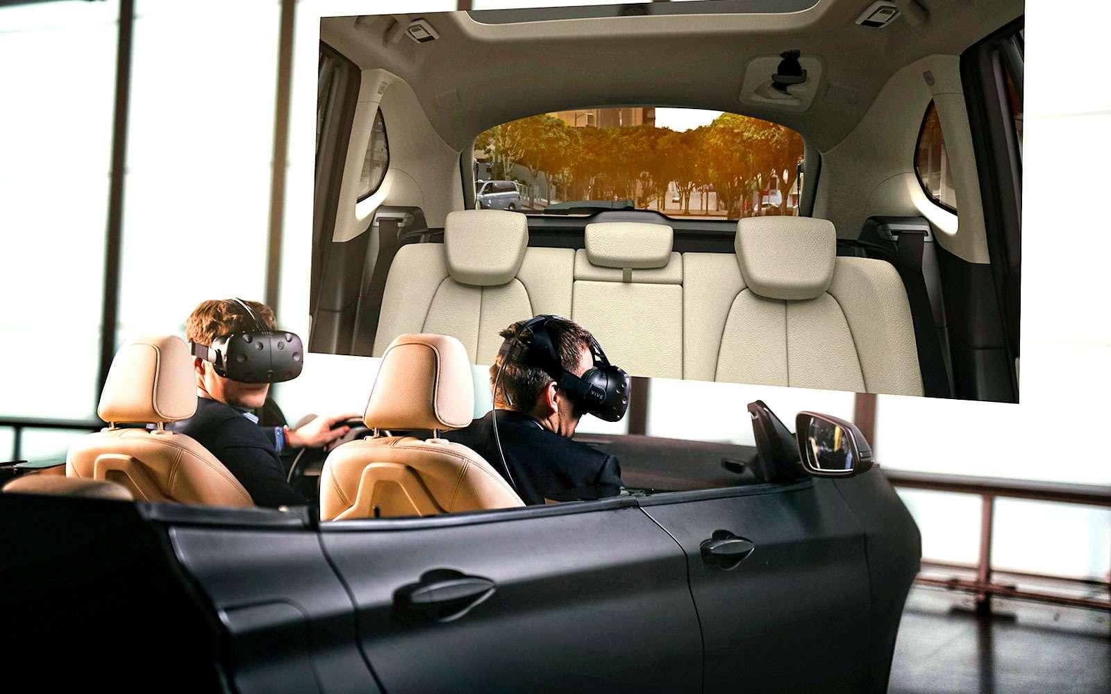 Эргономисты BMW работают вшлемах HTC Vive.