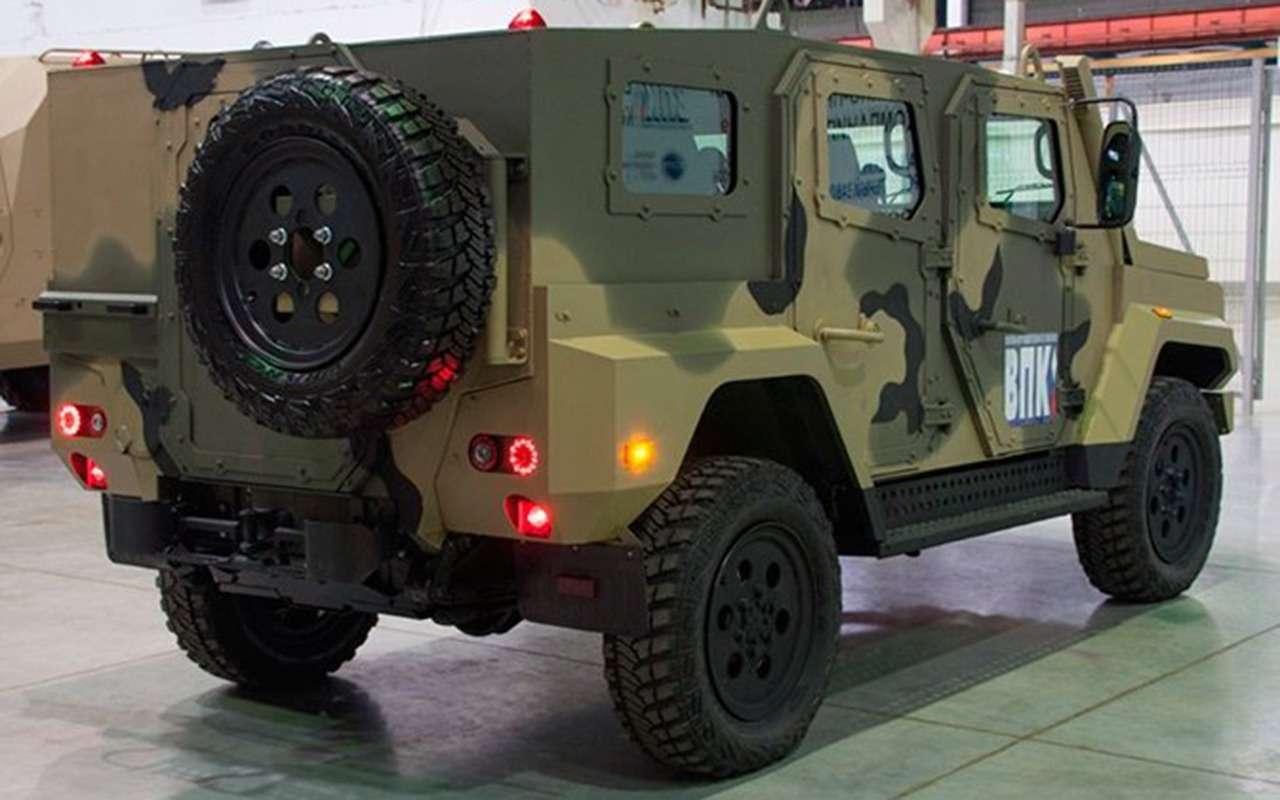 Сделан новый бронеавтомобиль. Все компоненты— российские— фото 1145207
