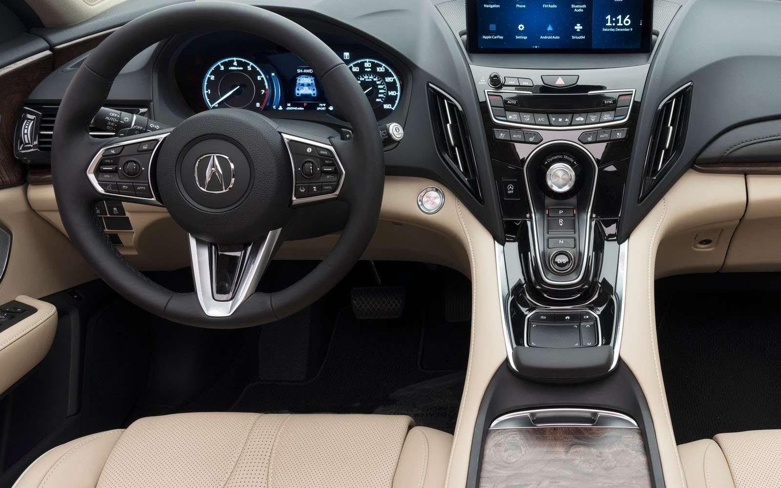 Новая Acura RDX: везите кнам еескорей!— фото 836459