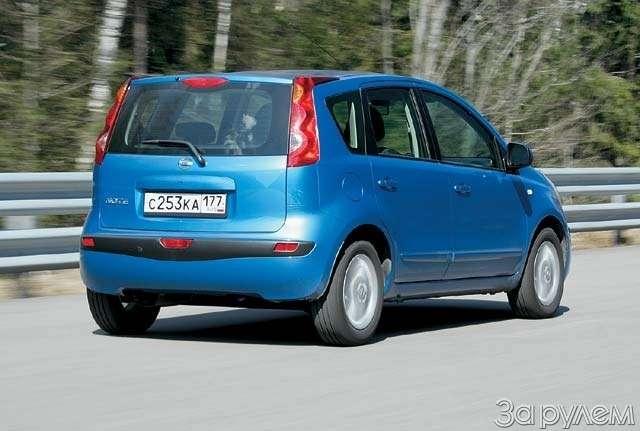 Тест-драйв Ford Fusion, Nissan Note. НОТКА ПРЕВОСХОДСТВА— фото 65001