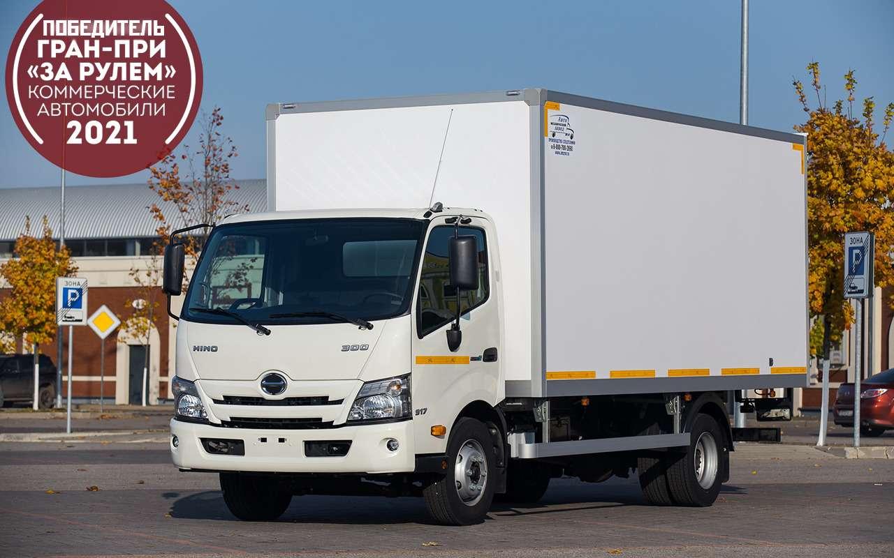 HINO 300: лучший среднетоннажный грузовик года на COMTRANS 2021