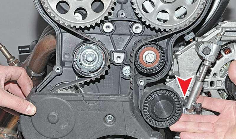 Как поменять ремень грм на 16 клапанной своими руками