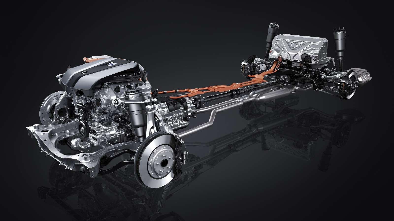 Новый Lexus LSпредстал вЖеневе вгибридном исполнении 500h— фото 718354