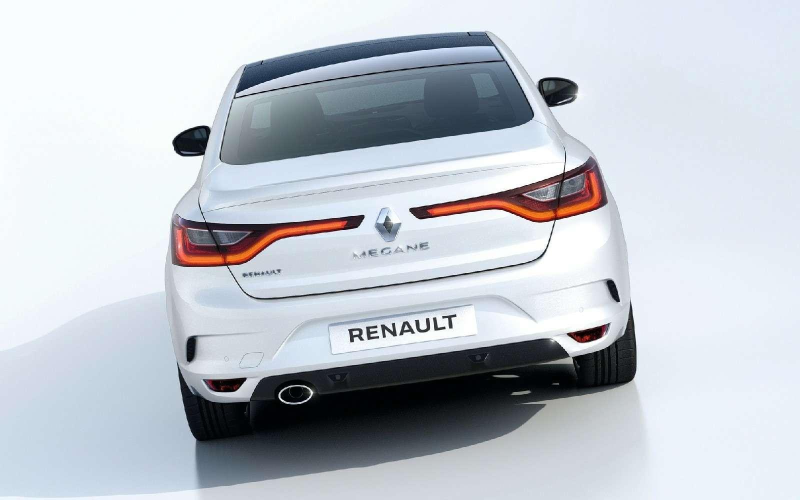 ИзТурции слюбовью: представлен новый седан Renault Megane— фото 607494