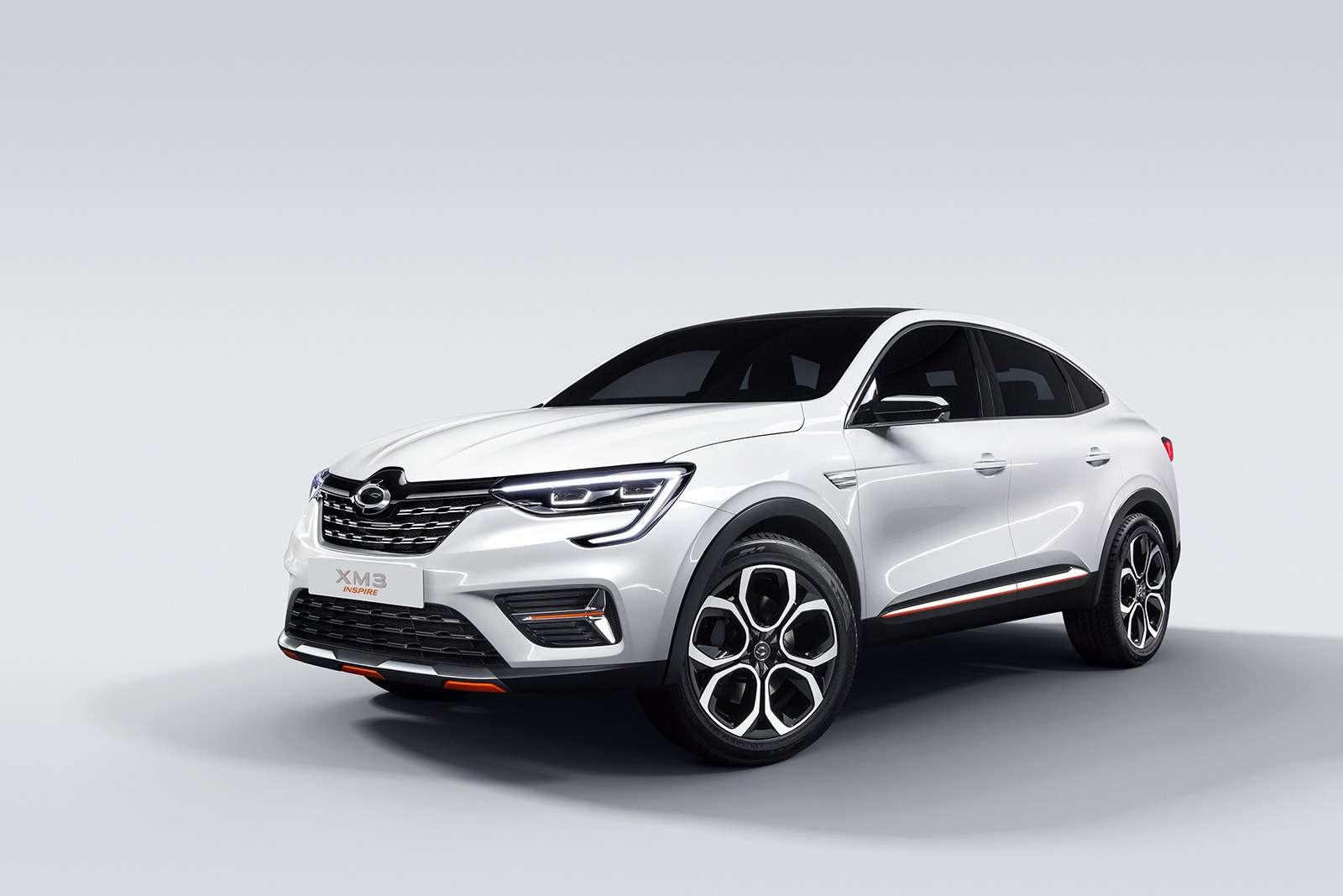 Renault Arkana: новое имя ипрописка— фото 961338