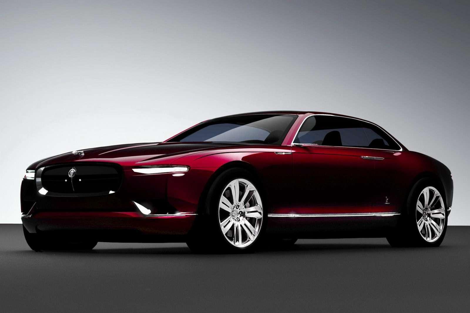 Jaguar B99от Bertone везет вЖеневу новые веяния автодизайна