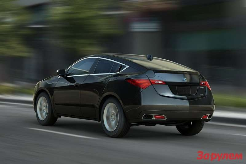 2013 Acura ZDX side-rear view 2